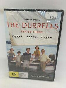 The Durrells Series 3 Season Three DVD Region 4 NEW