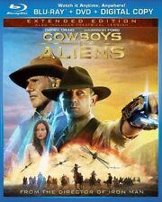 Cowboys & Aliens  DVD Blu-ray Daniel Craig, Harrison Ford, Olivia Wilde, Abigail