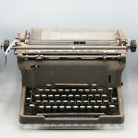 Vintage Underwood Typewriter Early Mid Century