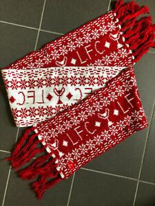 FC LIVERPOOL WINTERSCHAL CHRISTMAS WOLLSCHAL SCHAL REDS COMFORTER RETRO SCARF