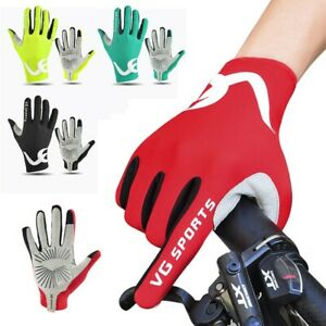 1 Pair Cycling Gloves Gloves Outdoor Breathable Sports S-2XL Full Finger New