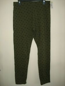 Women/'s Laura Scott Missy Crop Pants Tropical Green Size X-LARGE  NEW