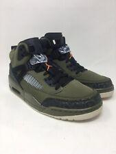 Jordan 4 Spizike Men's Shoe Size 9.5 US Green/ Black/ Orange