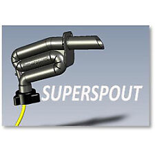 Superspout Standard The ultimate fuel solution to filling your boat. No Spills!