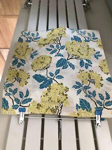 "Beautiful 100% Cotton Washable Hydrangea Cushion Cover 16"" X 17"" Joel Dewberry.."