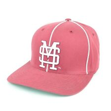 NCAA Starter Mississippi State Bulldogs Burgundy Flexfit Hat Cap Flat Bill