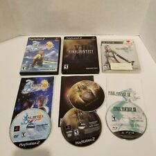 Final Fantasy Lot of 3 Games - PS2 XII Collector's Edition, FFX, FF XIII for PS3