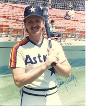 Alan Ashby Signed Photo 8x10 Autographed Astros 34631