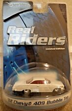 HOT WHEELS REAL '62 CHEVY 409 BUBBLE TOP H9215 *NEW*