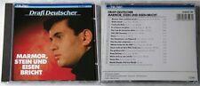 DRAFI DEUTSCHER Marmor, Stein und Eisen bricht .. Original 1987 Teldec CD TOP
