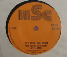 """The New Sound Crusaders Steel Band   Lets jump and dance   7""""  REGGAE STEEL BAND"""