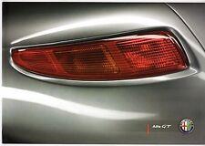 Alfa romeo gt 2008-09 uk market sales brochure 2.0 jts 1.9 jtdm lusso Q2