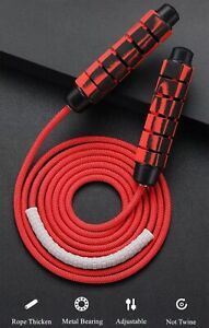 Speed skipping rope for weight loss crossfit adjustable high speed jumping gym