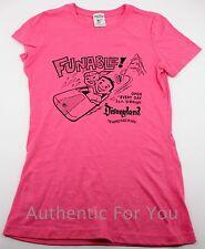 "Disneyland WDI Imagineer Exclusive Vintage ""Funable"" Pink Women's T-Shirt Small"