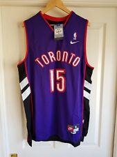 NWT Toronto Raptors Vince Carter Hardwood Classic Throwback Swingman Jersey XL