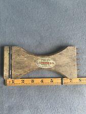 New listing Vintage C.S. Osborne Upholstery Tool Webbing Stretcher