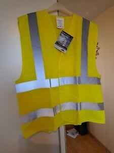 Portwest High Visibility Vests x4 L/XL