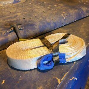 Matt Savage SAV002 Kinetic Energy Recovery Rope snatch strap 10m 8t KERR 4x4