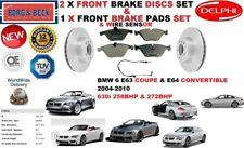 PER BMW 630 E63 E64 DECAPPOTTABILE COUPE SET DISCHI FRENI ANTERIORI+