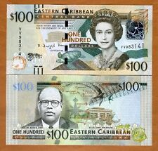 Eastern East Caribbean, $100, ND (2016) , P-New, UNC > Upgraded