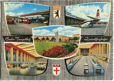 BERLIN TEMPELHOF Zentralflughafen PAN AM Maschine Passagierhalle etc 50/60er Ja.