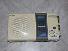 Sony Shower Mate 3 Band Reciever ICF-S77L Portable Radio