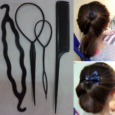 Elegant Women Girl Styling Hair Clip Stick Bun Maker Hair Accessories Braid Tool