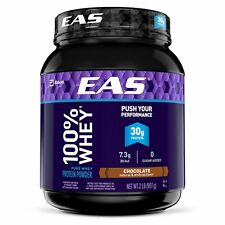 EAS 100% Pure Whey Protein Powder, Chocolate, 2lb Packaging May Vary