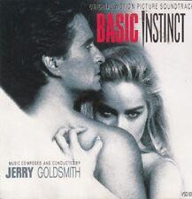 BASIC INSTINCT: MOTION PICTURE SOUNDTRACK – 10 TRACK CD, JERRY GOLDSMITH