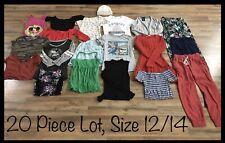 Girls Clothing Lot, 20 Items, Size 12/14, Disney, Hollister, Camp David