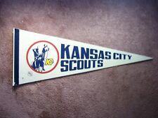 1974/75 1975/76 KANSAS CITY SCOUTS NHL HOCKEY PENNANT FLAG SHARP!!