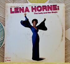 LENA HORNE - The Lady And Her Music [2xVinyl LP,1981] USA Import 2QW 3597 EXC