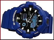 Casio G-Shock Mens Wrist Watch GA700-2A  GA-700-2A  Blue/Black 3D Face Ana/Dig