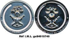 Groupement de Camp de CANJUERS, marque page en métal argenté matricé (9145)