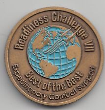 Readiness Challenge VII Expeditionary Combat Support challenge coin - 113