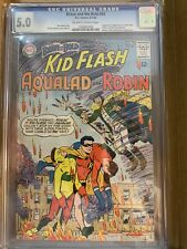 Brave and The Bold #54 CGC 5.0 (1964) 1st Teen Titans OW to White Pages