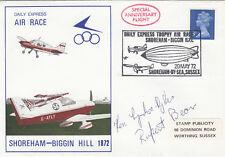 (05375) Clearance GB FDC Shoreham-Biggin Hill Air Race 20 MAGGIO 1972