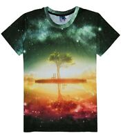 Tranquil Tree T-Shirt (mystical nature all over 3d printed t shirt)