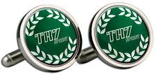 Triumph TR7 Sprint Green B/G Logo Cufflinks and Gift Box