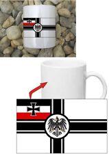 Reichskriegsflagge Deutsches Reich Kaffeehaferl Tasse Coffee Mug FJ WH WWII WK2