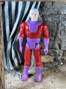 "Vintage X-Men Magneto Action Figure 1991 5"" Marvel Toy Biz 90's Toy 012"