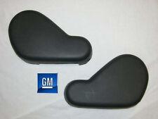 93-02 Camaro Firebird Graphite Gray Manual Seat Side Covers       NEW GM PAIR