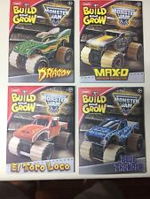 Lowe's Build & Grow,4 Different Monster Trucks- El Toro-Blue Thunder-Dragon-MaxD