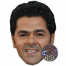 Jamel Debbouze Celebrity Mask, Card Face and Fancy Dress Mask