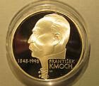 1998 Czech Rep 200 Korun Silver PROOF Coin Frantisek Kmoch Beer Barrel Polka