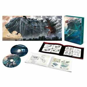 GODZILLA Monster Planet Blu-ray Collector's Edition 2 Disc Set  Limited JP