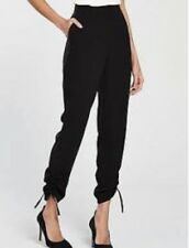 02bc0fa0bf4 Drawstring Hem Trousers. In Black. Size 8. By Very.