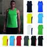AWDis Just Cool Contrast Vest Men Summer/sports/gym/performance tank top |S-2XL