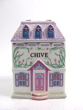 The Lenox Spice Village Fine Porcelain Spice Jar 1989 Chive Replacement