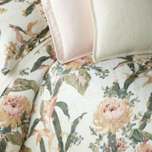 Ralph Lauren QUEEN DUVET COVER - OLIVIA JOSEFINA - Painterly Floral, NIP, Free📦